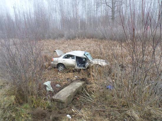 Водитель иномарки погиб в результате ДТП под Калугой