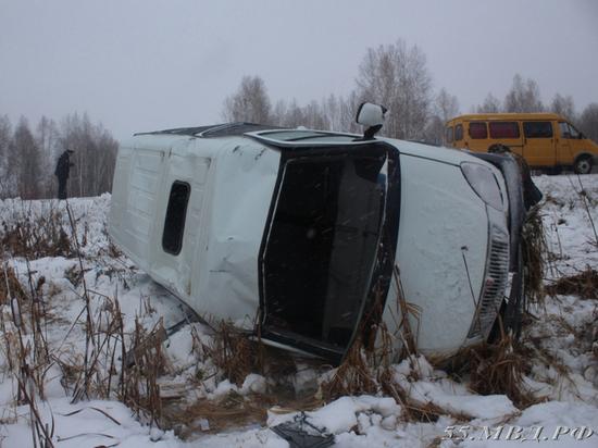 В ДТП с омской маршруткой пострадали семеро пассажиров