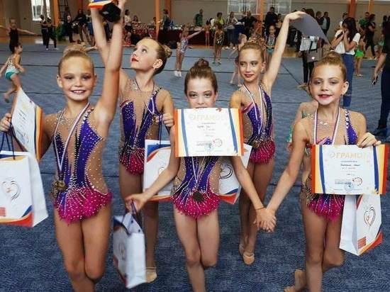 Юные гимнастки Мордовии привезли «золото» с турнира «Vivat, energy!»