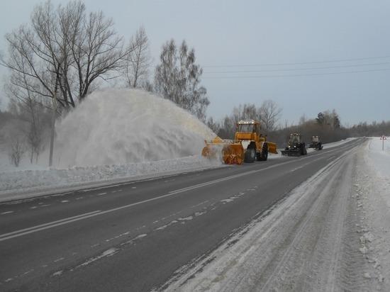 Федеральные дорожники Алтая переходят на усиленный режим работы из-за резкого похолодания