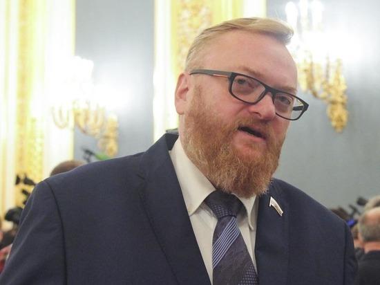 Милонов обвинил Ефремова в помощи злу