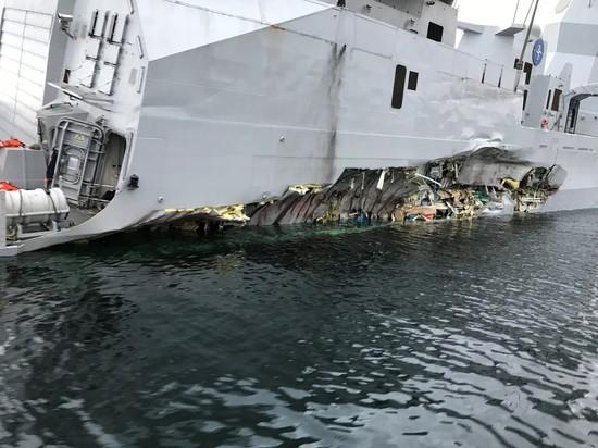 ВМС Норвегии не уберегли боевой корабль с американским комплексом ПРО