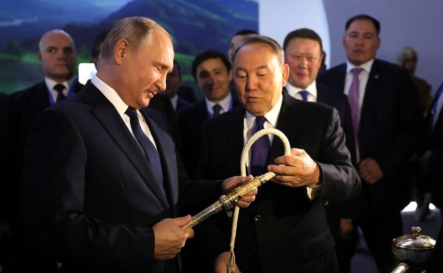 Межрегиональный форум сучастием Назарбаева и В. Путина  - видеотрансляция