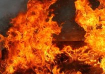 Кемеровские спасатели вызволили мужчину из горящего здания