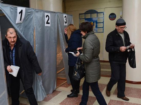 Выборы в ДНР и ЛНР поразили явкой