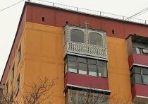 Разгадана тайна православного балкона, поразившего москвичей