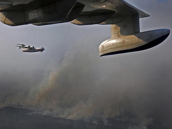 Репортеры  порекомендовали  США арендовать у РФ  самолёты для борьбы спожарами