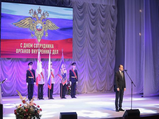 Торжественные мероприятия, посвященные Дню сотрудника органов внутренних дел, прошли на Вологодчине
