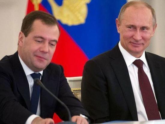 Путин обременил налогами Медведева: в чей карман залезет премьер