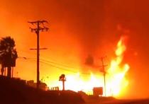 Разбушевавшаяся огненная стихия в американском штате Калифорния – бедствие из разряда природных, но к нему примешивается еще и политическое звучание