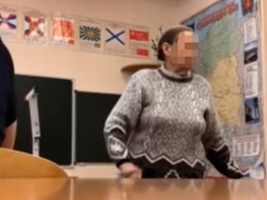 Учительница отчитала школьников за фразу о Путине, напомнив о расстрелах