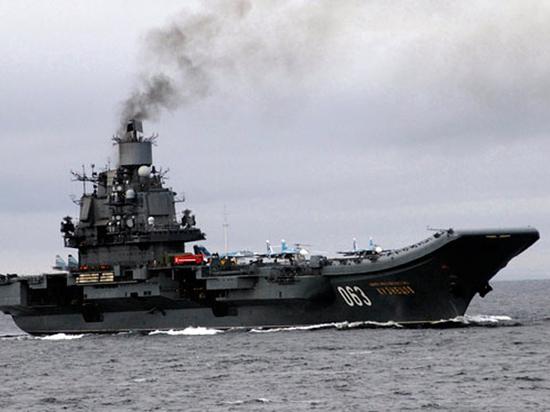 Минобороны оценило ущерб «Адмирала Кузнецова» после ЧП: еще послужит
