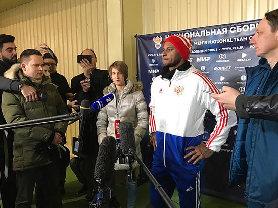 Сборная России начала подготовку к матчам с немцами и шведами
