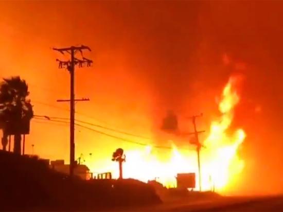 Ад и рай Калифорнии: что стало причиной катастрофических пожаров