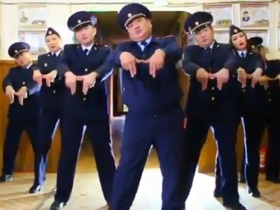 Полиция Якутим - фореве! Прикольные товарищи. (видео)