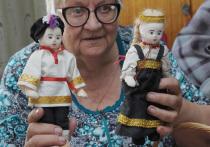 Воронежская мастерица создала уникальную коллекцию кукол