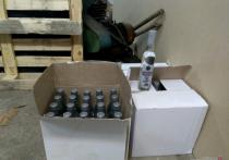 Камышинский бутлегер не смог продать 6 тысяч бутылок паленого алкоголя