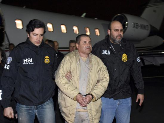 В США начался суд над дважды бежавшим наркобароном Эль Чапо