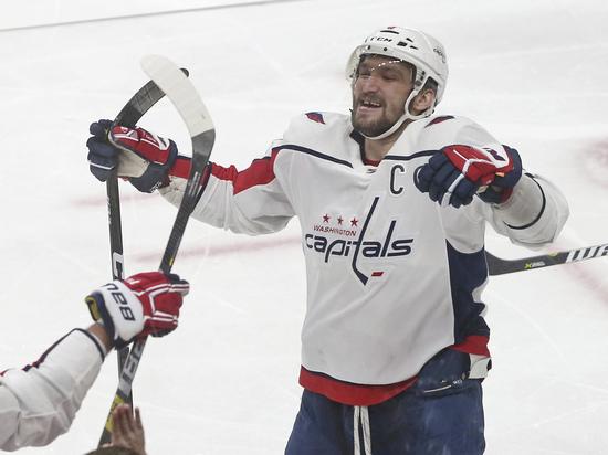 Овечкин занял восьмое место в НХЛ по очкам среди европейцев