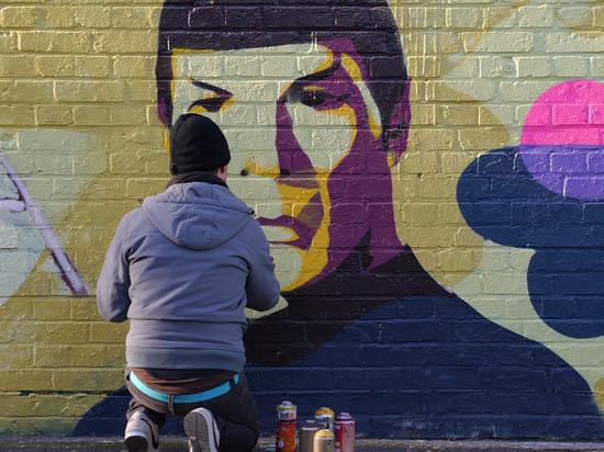 Граффити в городе будут наносить по правилам