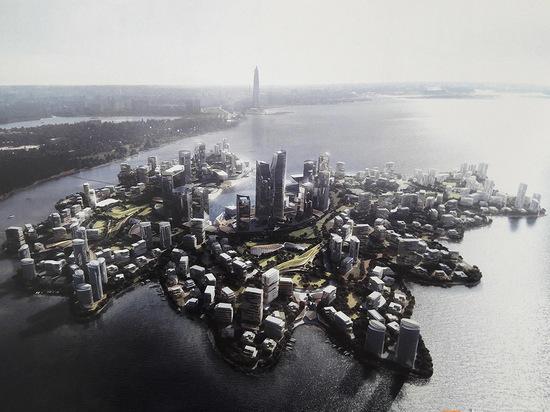 """В Финском заливе хотят построить """"город на воде"""""""