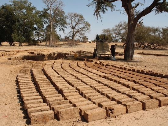 Африканские ученые начали делать кирпичи из мочи