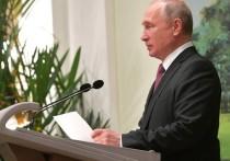 Путин в Петербурге проведет профилактику от