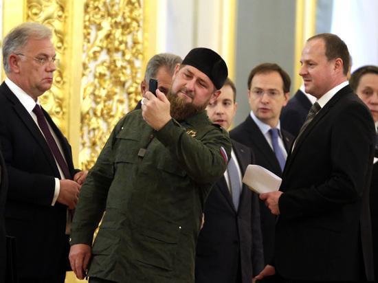 Вернувшийся в Instagram Кадыров поделился мыслями о пистолете