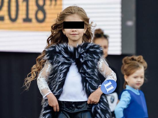Семилетней супермодели из России сломали нос в школе