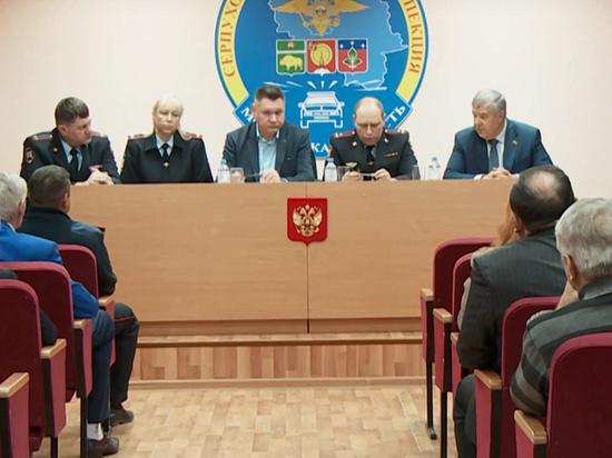 Полицейские встретились с представителями общественности