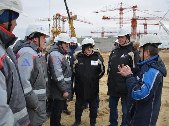Глава Росэнергоатома проинспектировал ход сооружения Курской АЭС-2