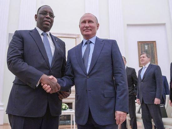Президента кинули с кортежем: криминальный скандал между Россией и Сенегалом