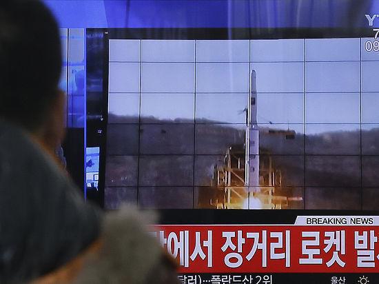 Северная Корея провела испытания нового высокотехнологичного оружия