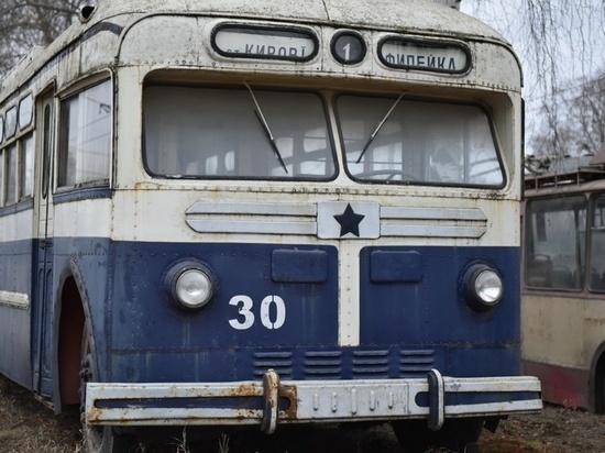 В Кирове отреставрируют раритетные троллейбусы