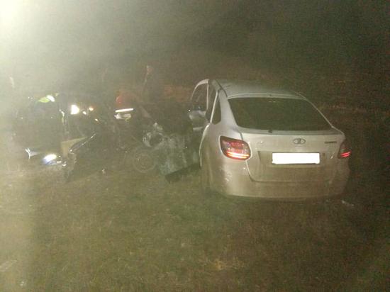 В Тамбовской области в ДТП один человек погиб и пятеро пострадали