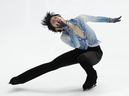 Японский фигурист Ханю установил мировой рекорд на Гран-при в Москве