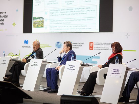 На экологическом форуме оценили меры поддержки арктической экологии крупным бизнесом