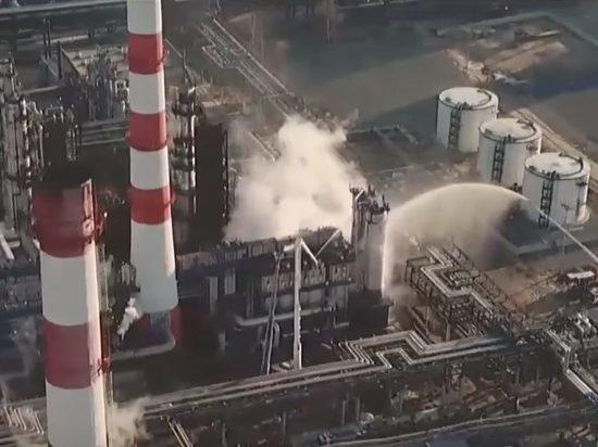 Экологи раccказали о последствиях пожара на НПЗ в Капотне