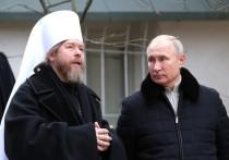 Пресс-служба Путина опубликовала кадры посещения Псково-Печерского монастыря