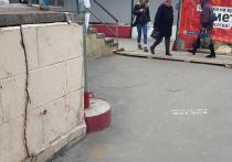 Дома возле строительства нового метро в Сокольниках пошли трещинами