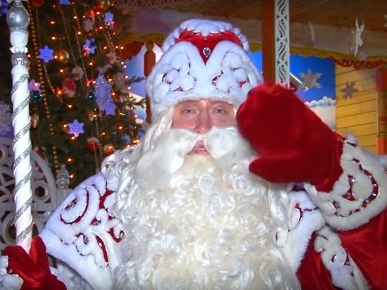 Дед Мороз начал праздновать свой день рождения