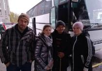 Украинские волонтеры помогли пенсионеру из Бийска вернуться домой