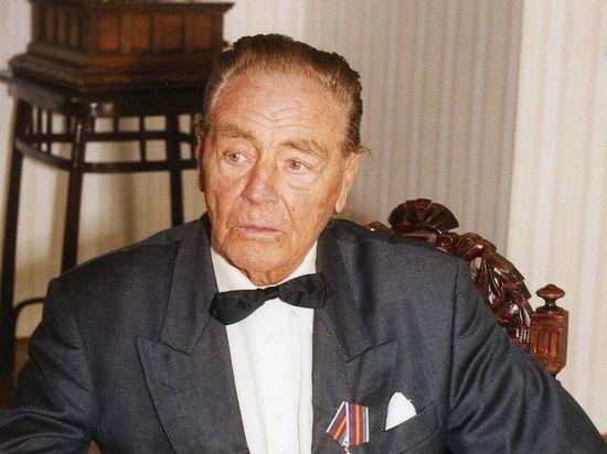 Барон Фальц-Фейн погиб на пожаре в возрасте 106 лет