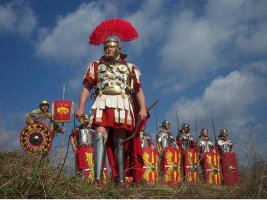 Власти Рима запретили наряжаться в центурионов
