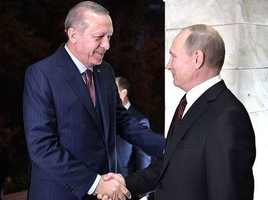 """Эрдоган обратился к Путину """"Ваше превосходительство"""""""