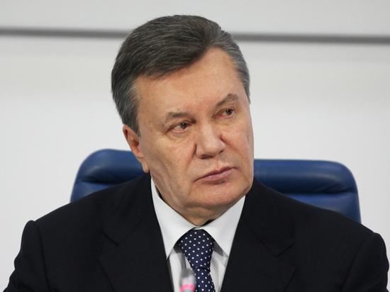 Травма Януковича сорвала