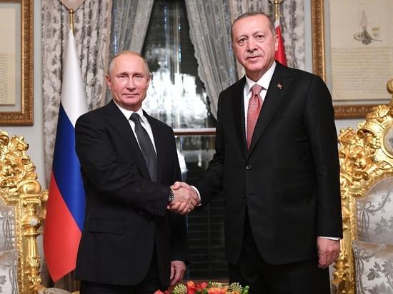 Эрдоган озвучил перед Путиным несуществующие рекорды