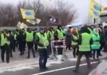 К годовщине Майдана на Украине начался бунт автовладельцев