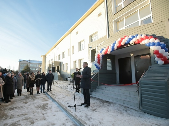 Важные инфраструктурные объекты открыли в Тотемском и Кичменгско-Городецском районах