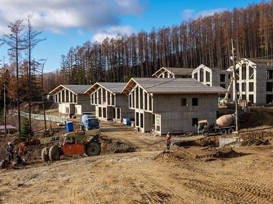 Первые семь домиков будут сданы в феврале будущего года
